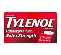 Tylenol Extra Strength Acetaminophen Caplets - 225 Count