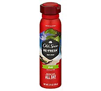 Old Spice Fresher Collection Body Spray Refresh Fiji with Palm Tree - 3.75 Oz