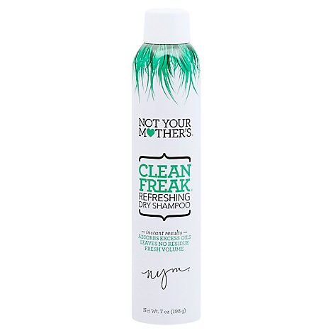 Not Your Mothers Clean Freak Dry Shampoo Refreshing - 7 Oz
