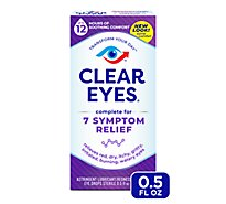 Clear Eyes Complete Rel Drops - .5 Fl. Oz.