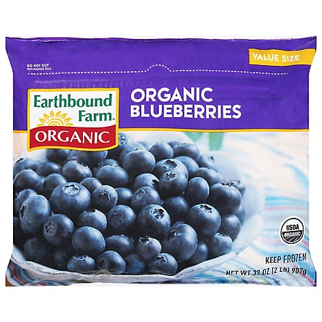 Earthbound Farm Organic Frozen Blueberries - 2 Lb