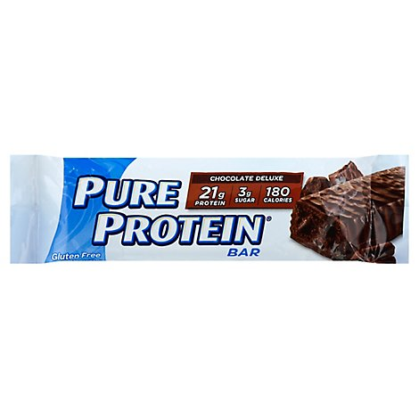 Pure Protein Bar Gluten Free Chocolate Deluxe - 1.76 Oz