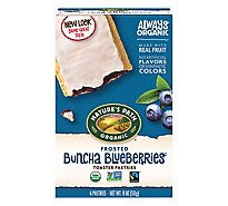 Natures Path Organic Toaster Pastries Frosted Buncha Blueberries - 11 Oz