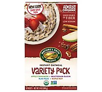 Natures Path Organic Oatmeal Variety Pack - 14 Oz