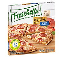 Freschetta Pizza Gluten Free Signature Pepperonia Frozen - 17.78 Oz