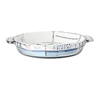 Anchor Bakeware Pie Plate Easy Grip Handles 9.5 Inch - Each