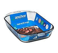 Anchor Hocking Premium Bake Dish 4 Quart - Each