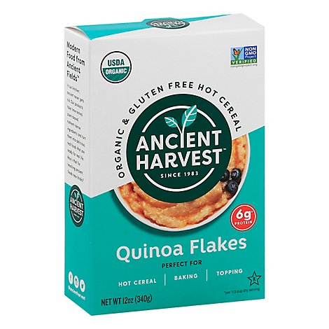 Ancient Harvest Cereal Hot Quinoa Flakes - 12 Oz