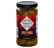 Tabasco Spicy Okra Pickled - 12 Fl. Oz.
