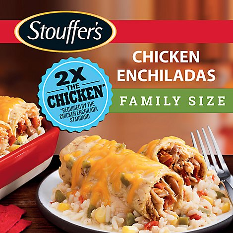 STOUFFERS Meal Family Size Chicken Enchiladas - 30 Oz