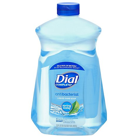 Dial Liquid Hand Soap With Moisturizer Spring Water - 52 Fl. Oz. (limit 4)