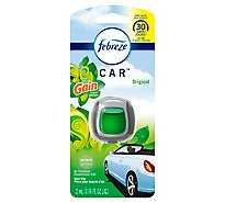 Febreze CAR Air Freshener Vent Clip Gain - 0.06 Fl. Oz.