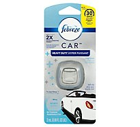 Febreze CAR Air Freshener Vent Clip Crisp Clean - 0.06 Fl. Oz.