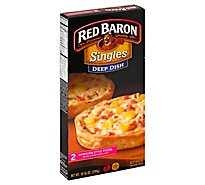 Red Baron Pizza Deep Dish Singles Hawaiian Style Frozen - 10.56 Oz