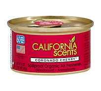 California Scents Air Freshener Spillproof Organic Coronado Cherry - 1.5 Oz