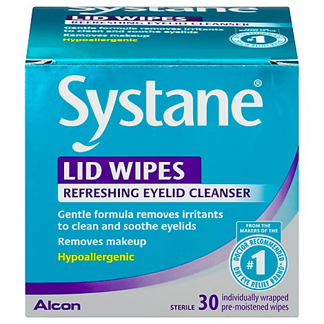 Systane Lid Wipes - 30 Count