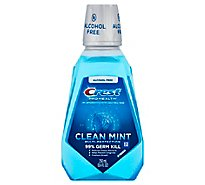 Crest Pro Health Mouthwash Multi-Protection Clean Mint Alcohol Free - 8.4 Fl. Oz.
