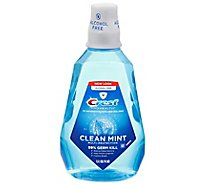 Crest Pro Health Mouthwash Multi-Protection Clean Mint Alcohol Free - 50.7 Fl. Oz.
