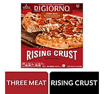 DIGIORNO Pizza Original Rising Crust Three Meat Frozen - 29.8 Oz