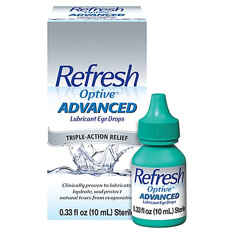 Refresh Optive Advanced - .33 Fl. Oz.