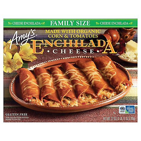 Amys Enchilada Cheese Family Size - 27 Oz