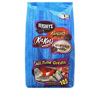 HERSHEYS All Time Greats Snack Size Assortment Bag - 38.9 Oz