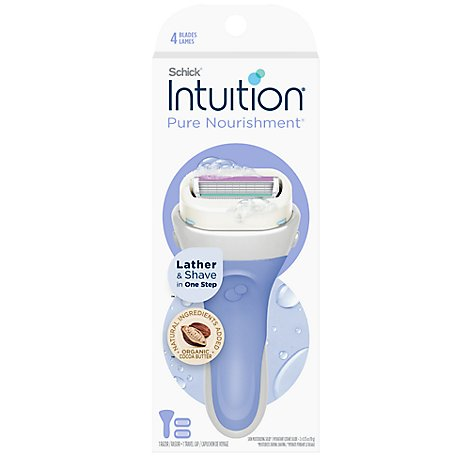 Schick Intuition Pure Nourishment Coconut Razor - Each