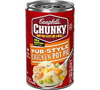 Campbells Chunky Soup Pub-Style Chicken Pot Pie - 18.8 Oz