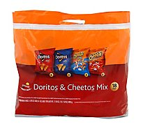 Frito Lay Snacks Doritos & Cheetos Mix Bag - 18-1 Oz