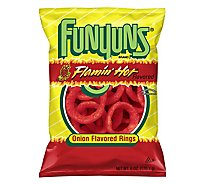 Funyuns Onion Flavored Rings Flamin Hot - 6 Oz