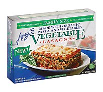 Amys Family Size Vegetable Lasagna - 28 Oz