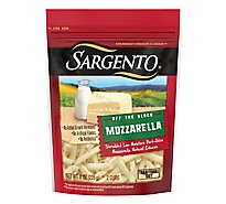 Sargento Off the Block Cheese Shredded Mozzarella - 8 Oz
