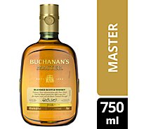 Buchanans Scotch Master Blend 80 Proof - 750 Ml
