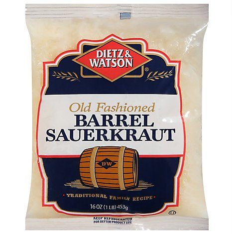 Dietz & Watson Old Fashioned Barrel Sauerkraut - 9 Oz
