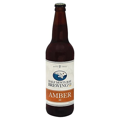 Mavericks Amber Ale In Bottles - 22 Fl. Oz.