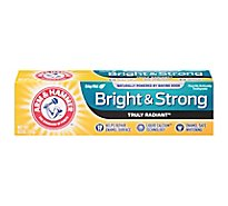 ARM & HAMMER Truly Radiant Toothpaste Fluoride Anticavity Fresh Mint Flavor - 4.3 Oz
