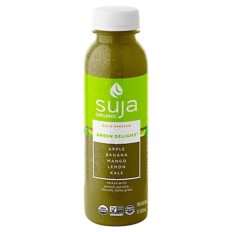 Suja Fruit & Vegetable Juice Smoothie Organic Green Delight - 12 Fl. Oz.