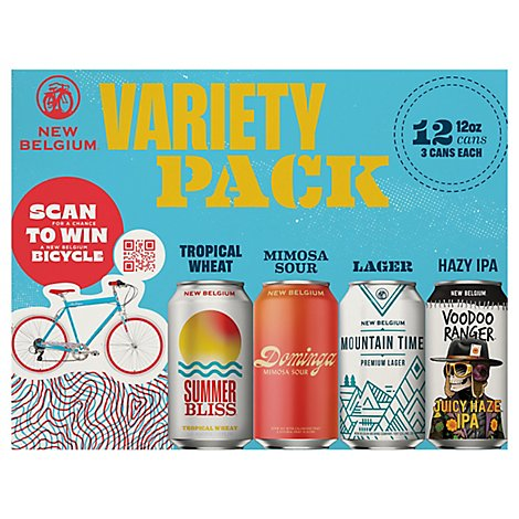 New Belgium Folly Pack In Cans - 12-12 Fl. Oz.
