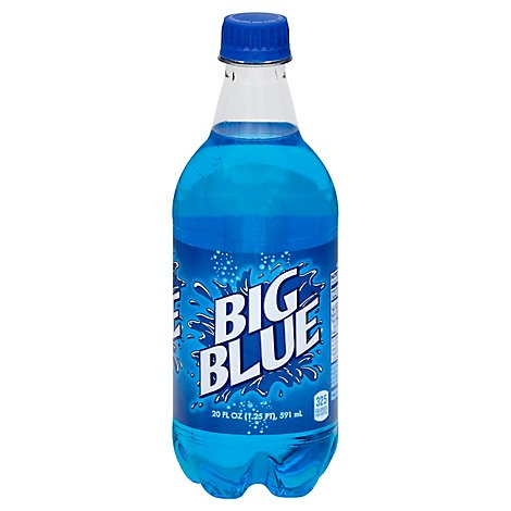 Big Blue Soda - 20 Fl. Oz.