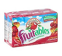 Apple & Eve Fruitables Juice Fruits & Vegetables Fruit Punch - 8-6.75 Fl. Oz.