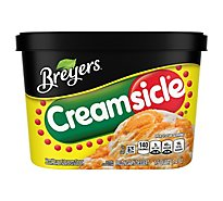 Breyers Ice Cream Creamsicle Orange - 48 Oz