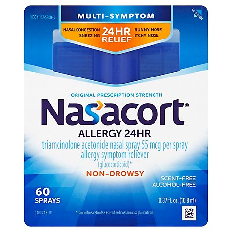 Nasacort Nasal Allergy Spray - 0.37 Fl. Oz.