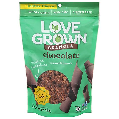Love Grown Oat Clusters Toasted Granola Cocoa Goodness - 12 Oz