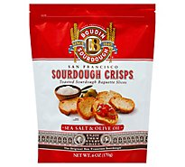 Boudin Sea Salt & Olive Oil Sourdough Crisps - 6 Oz