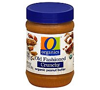 O Organics Organic Peanut Butter Spread Old Fashioned Crunchy - 28 Oz