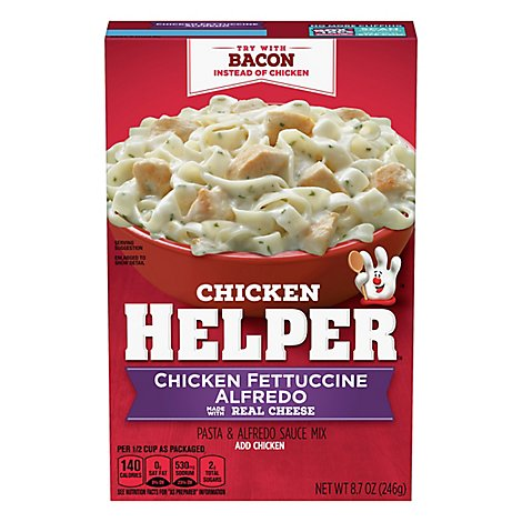 Betty Crocker Chicken Helper Chicken Fettuccine Alfredo Box - 8.7 Oz
