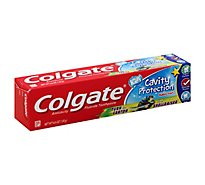 Colgate Toothpaste Kids Cavity Protection Fluoride Bubble Fruit - 4.6 Oz