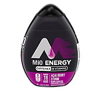 MiO Liquid Water Enhancer Energy Acai Berry Storm - 1.62 Fl. Oz.