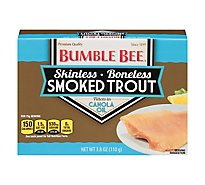 Bumble Bee Trout Smoked Skinless in Canola Oil - 3.8 Oz
