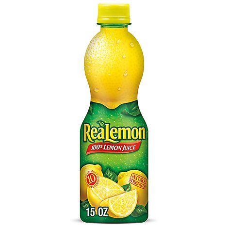 ReaLemon 100% Lemon Juice - 15 Fl. Oz.